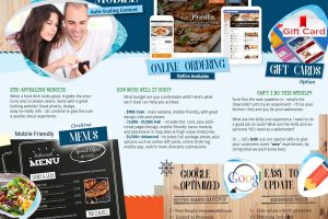 dining website brochure - inside