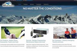 Coast Mountain Wireless website