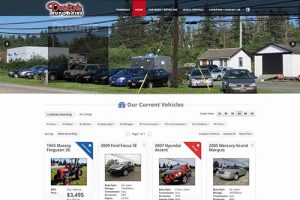 dustins auto website