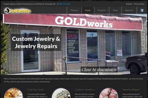 Hoods Goldworks website
