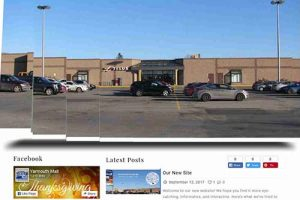Yarmouth Mall website